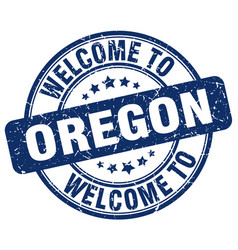 Welcome to oregon vector
