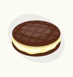 Cookie chocolate homemade breakfast bake cakes vector