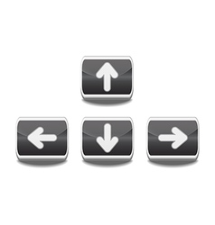 Arrow buttons vector