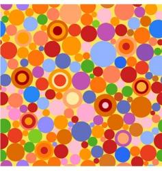 circles seamless 2 vector image