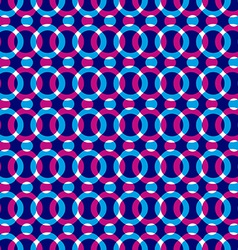 Bright dotted seamless pattern with red and blue vector