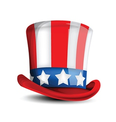 4th july hat vector