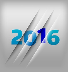 Numbers background 2016 vector