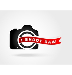 I shoot rawlove photoshoot raw photo format vector