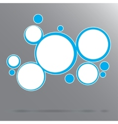 abstract background with circles Eps 10 vector image