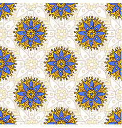 Indian seamless pattern texture can be used for vector