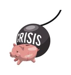 Money economy and financial item vector