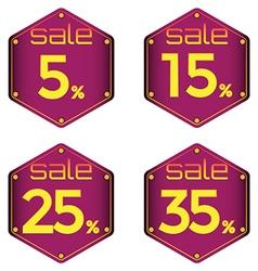 Sale discount vector