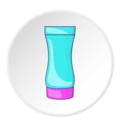 After shave gel icon cartoon style vector