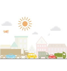 City lanscape vector image