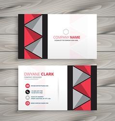 Creative identity card vector