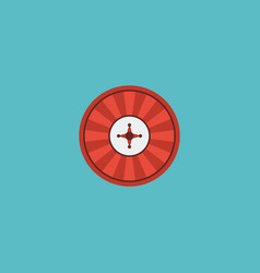 flat icon casino element of vector image vector image