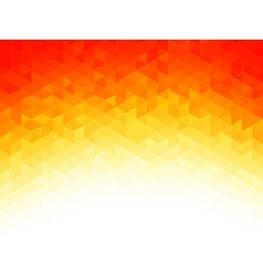 Polygonal Background for webdesign - Yellow Red vector image