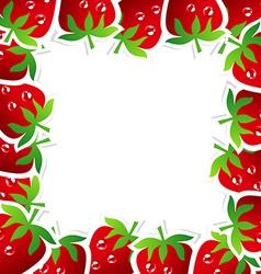 StrawberryFrame vector image vector image