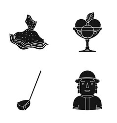 Textiles cafe profession and other web icon in vector