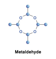 Metaldehyde is an organic pesticide vector