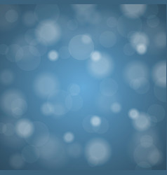 abstract blurred background of sky blue shiny vector image