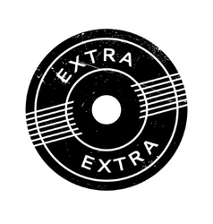 Extra rubber stamp vector
