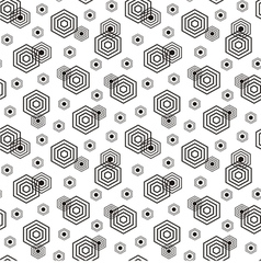 Geometric pattern vector image vector image