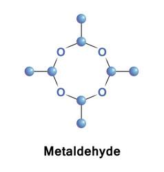 Metaldehyde is an organic pesticide vector