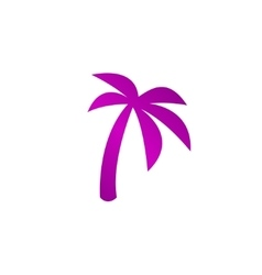 palm icon Eps 10 vector image