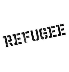 Refugee rubber stamp vector