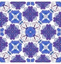 Spanish traditional ornament mediterranean vector