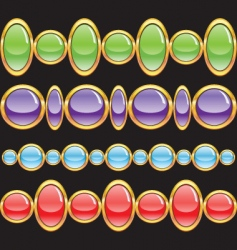jewelery vector image