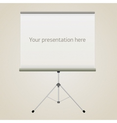 Projector screen vector