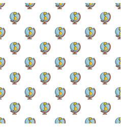 Globe pattern seamless vector