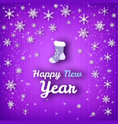 Happy new year colorful poster vector