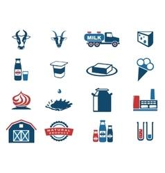 Milk industry vector image