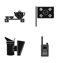 Police recreation restaurant and other web icon vector