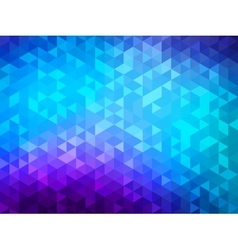 Polygonal background for webdesign - blue purple vector