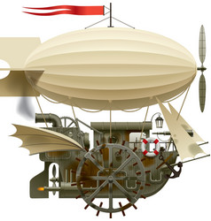 Flying Ship vector image