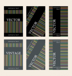 wine labels29 vector image
