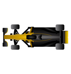 isolated racing car icon vector image