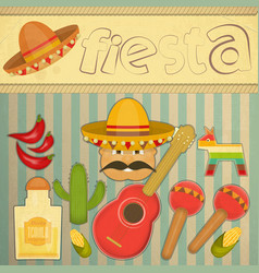Mexican fiesta vector