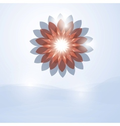 Soft flower vector