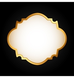 vintage frame icon vector image