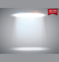 Spotlight scene transparent light effect stage vector