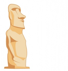 moai vector image
