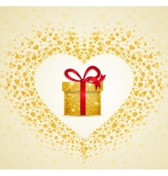 gift from the heart vector image vector image