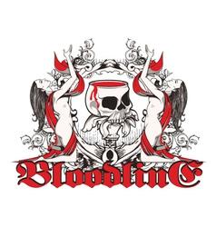 Gothic t-shirt design vector