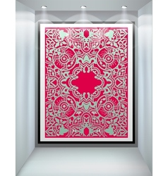 Shop window Ornament vector image