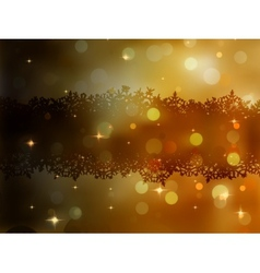Christmas gold background eps 8 vector
