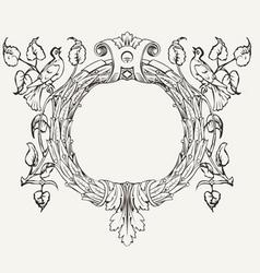 Dove Wreath vector image