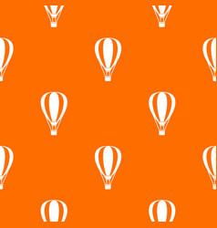 Hot air ballon pattern seamless vector