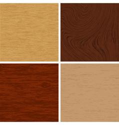 wooden textures vector image
