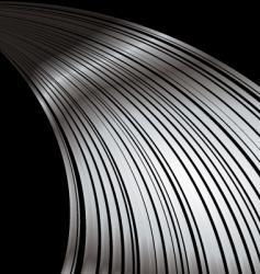 silver streak vector image